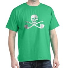Skull and Cross Pipes T-Shirt