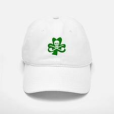 St. Patrick's Day Jolly Roger Baseball Baseball Cap