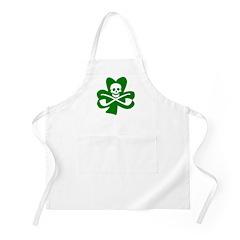 St. Patrick's Day Jolly Roger BBQ Apron