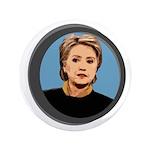 Hillary Clinton Wordless Big Icon Button