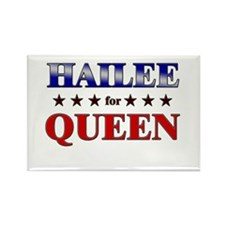 HAILEE for queen Rectangle Magnet