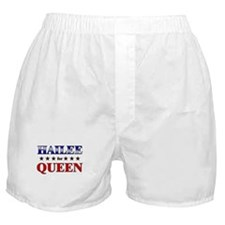 HAILEE for queen Boxer Shorts