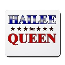 HAILEE for queen Mousepad