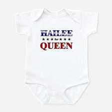 HAILEE for queen Infant Bodysuit