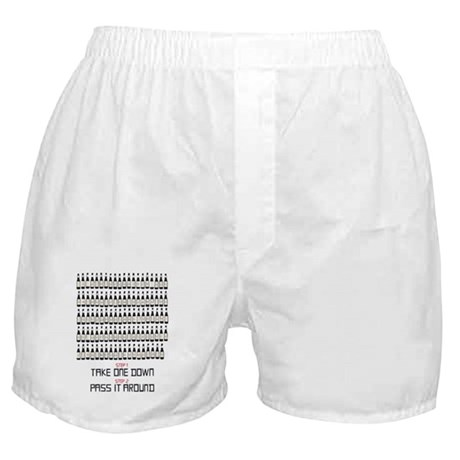 99 Bottles Of Beer On The Wal Boxer Shorts