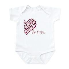 Be Mine by Leah Infant Bodysuit