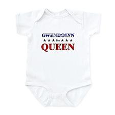 GWENDOLYN for queen Infant Bodysuit