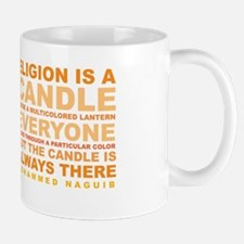 Religion is a Candle Mug