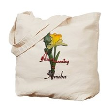 Honeymooning in Aruba Tote Bag