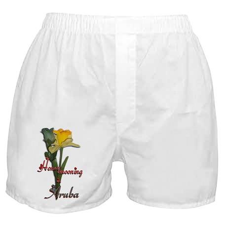 Honeymooning in Aruba Boxer Shorts
