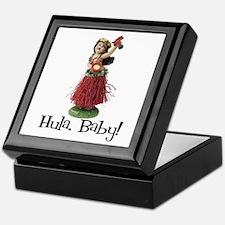 Hula, Baby Keepsake Box