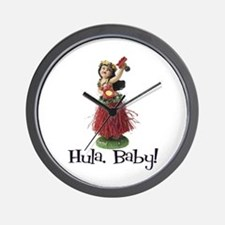 Hula, Baby Wall Clock