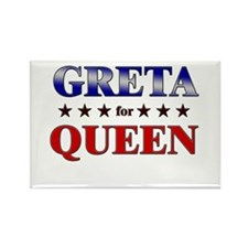 GRETA for queen Rectangle Magnet (10 pack)