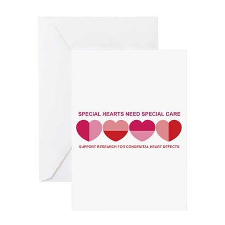 Special Hearts Greeting Card