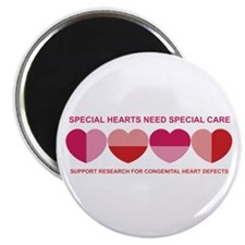 "Special Hearts 2.25"" Magnet (10 pack)"