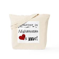 Afghanistan Loves Me Tote Bag