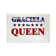 GRACIELA for queen Rectangle Magnet