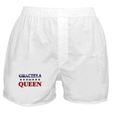 GRACIELA for queen Boxer Shorts