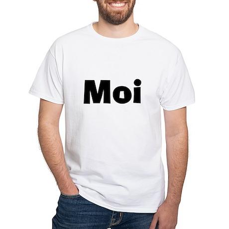 Matching Moi/Mini Moi White T-Shirt