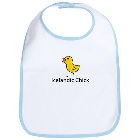 Icelandic Chick Bib