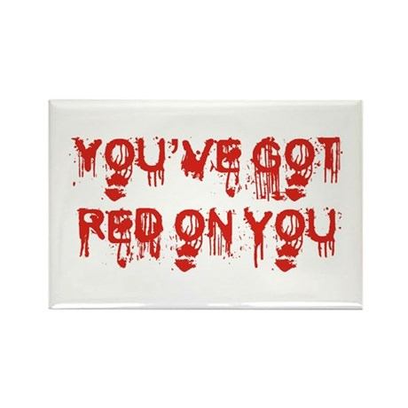 red on you Magnets
