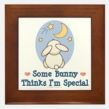 Some Bunny Special Framed Tile