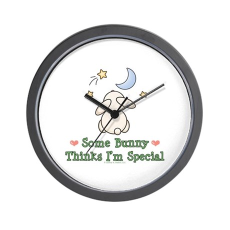 Some Bunny Special Wall Clock