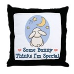 Some Bunny Special Throw Pillow