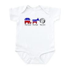 Evil Hillary Infant Bodysuit
