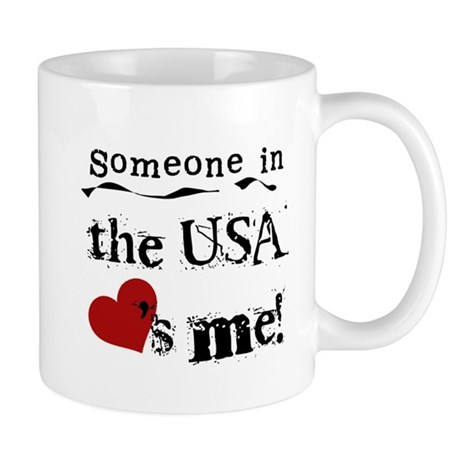 USA Loves Me Mug