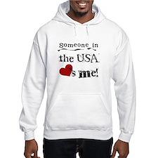 USA Loves Me Hoodie