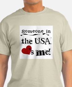 USA Loves Me T-Shirt