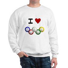 I LUV BINGO Sweatshirt