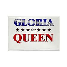 GLORIA for queen Rectangle Magnet