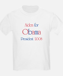 Aiden for Obama 2008 T-Shirt