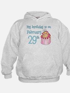 Birthday 02/29 Hoodie