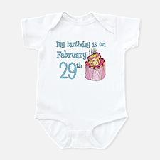 Birthday 02/29 Infant Bodysuit