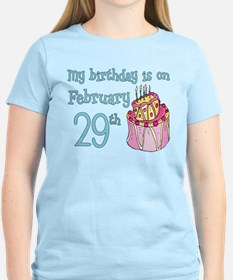 Birthday 02/29 T-Shirt