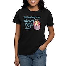 Birthday 02/29 Tee