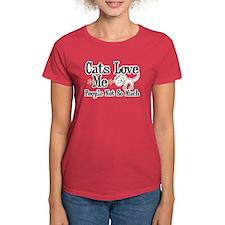 Cats Love Me Tee