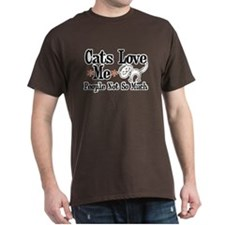 Cats Love Me T-Shirt