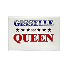 GISSELLE for queen Rectangle Magnet