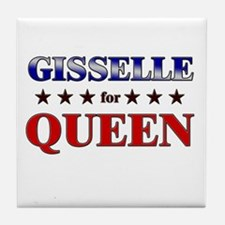 GISSELLE for queen Tile Coaster