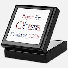 Bryce for Obama 2008  Keepsake Box