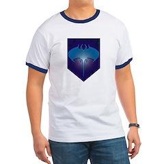 Aquamarine Ringer T