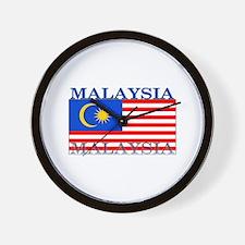 Malaysia Malaysian Flag Wall Clock