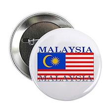 "Malaysia Malaysian Flag 2.25"" Button"