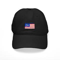 Malaysia Malaysian Flag Baseball Hat