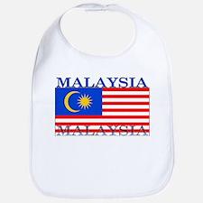Malaysia Malaysian Flag Bib