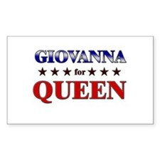 GIOVANNA for queen Rectangle Decal